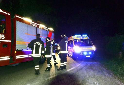 Bereguardo: si ribaltano con l'auto, feriti lievemente due uomini