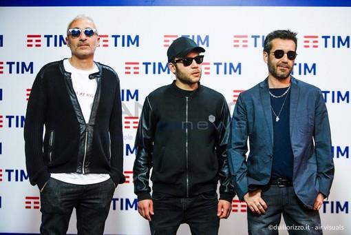 Fabio Rondanini, Rancore e Daniele Silvestri nelle foto di Duilio Rizzo