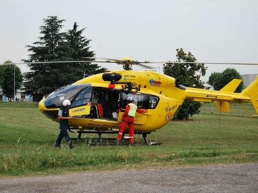 Cassolnovo: investito un ciclista sulla provinciale 206, è in gravi condizioni
