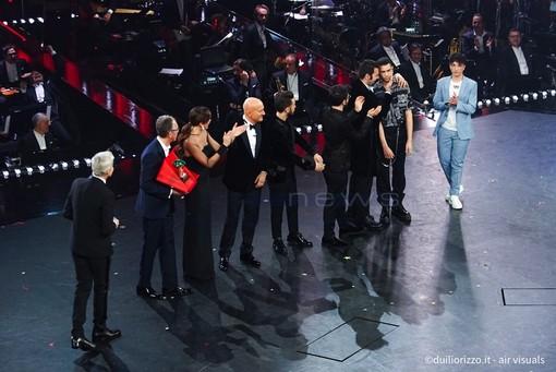 La premiazione sul palco (Foto: Duilio Rizzo)
