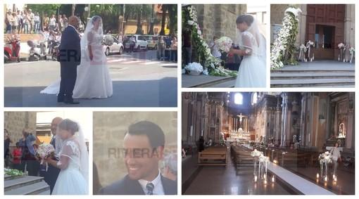 Arma di Taggia: Fulvia Fognini, sorella del tennista Fabio, è convolata a nozze