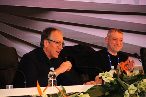 """#Sanremo2018: il Festival dei record conferma l'intesa con la Rai. Il sindaco Biancheri """"Siamo un gruppo di lavoro affiatato"""""""