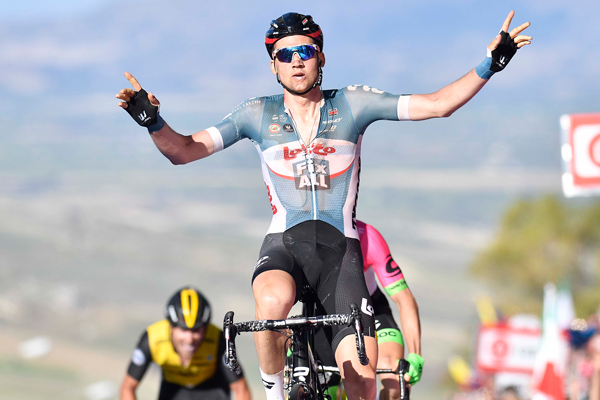 Giro 2018, la sesta tappa Caltanissetta-Etna LIVE