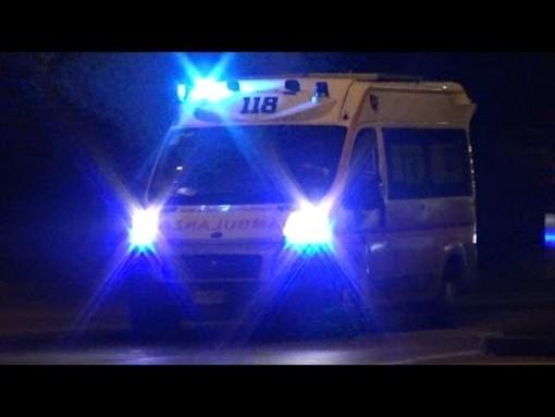 Valeggio: cade in moto sulla strada provinciale 16, ferito un 55enne