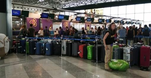 La situazione dei bagagli nella giornata di oggi a Malpensa