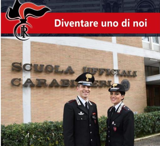 Opportunità di lavoro nell'Arma dei Carabinieri