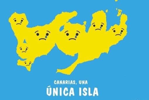 Le Canarie unite in un'unica isola: un'immagine bellissima che è diventata il simbolo di sostegno e forza dell'arcipelago durante i terribili giorni dell'incendio che ad agosto ha devastato Gran Canaria
