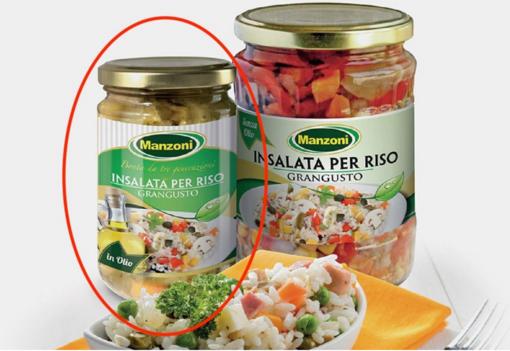Frammenti di vetro nei vasetti: Carrefour richiama un lotto di insalata per riso