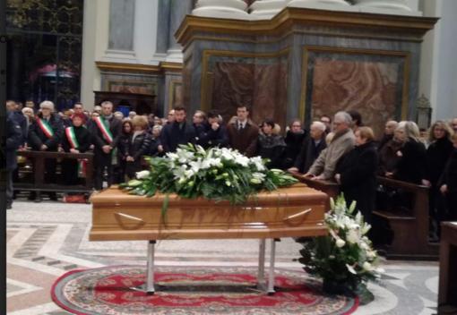 L'ultimo saluto ad Andrea Raineri