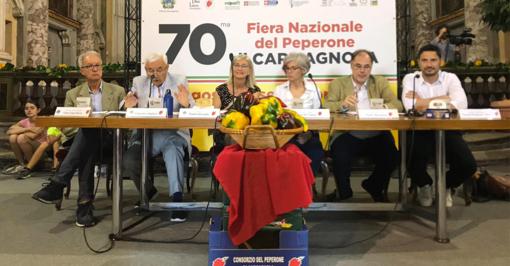 Fiera del Peperone di Carmagnola, presentata la 70esima edizione: cibo, grandi eventi e ospiti illustri [VIDEO]