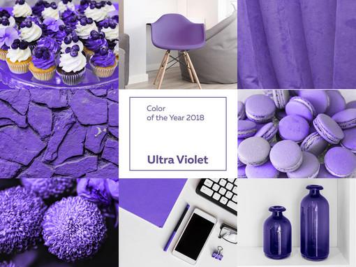 Il colore di tendenza per il 2018 sarà il viola: 5 colori con cui abbinarlo a seconda del tuo stile