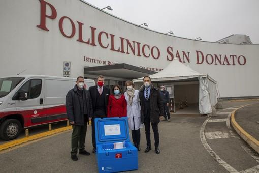 Il gruppo San Donato dona 3500 dosi di vaccino antinfluenzale  ad Avis Regionale Lombardia