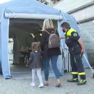 Pavia: nuovi punti tampone per adulti e bambini