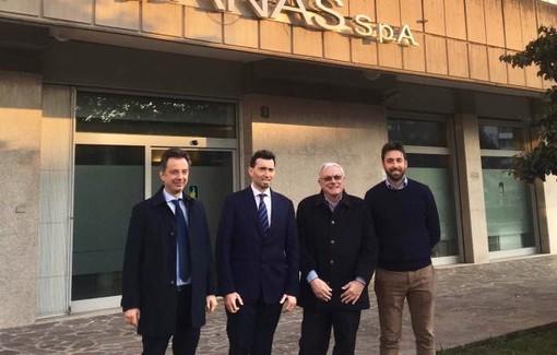 I sindaci coinvolti nello sviluppo della superstrada Vigevano-Malpensa
