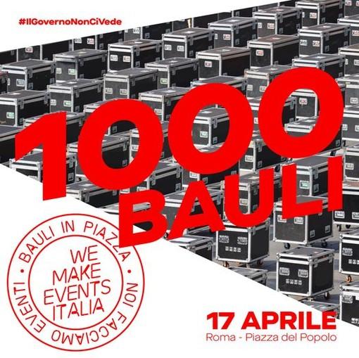 """Sabato 17 aprile, """"Bauli in Piazza"""" a Roma per i lavoratori dello spettacolo"""