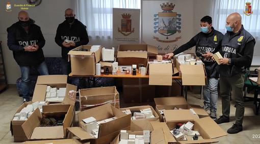 Profumi taroccati per centomila euro: maxisequestro messo a segno da Fiamme Gialle e Polizia