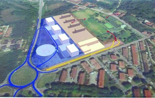 """Ecco come potrebbe essere la futura """"Cittadella della sicurezza"""" a Vigevano"""