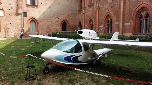 """(FOTOGALLERY) – Vigevano, in Sala del Duca oggi l'inaugurazione della mostra """"Leonardo e il Volo"""""""