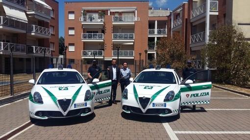 Vigevano, la Polizia Locale presenta le due nuove Alfa Romeo Giulietta (FOTOGALLERY)