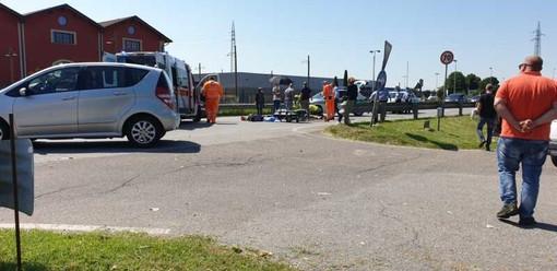 Magenta: grave incidente davanti al Giardineria sulla ex SS11