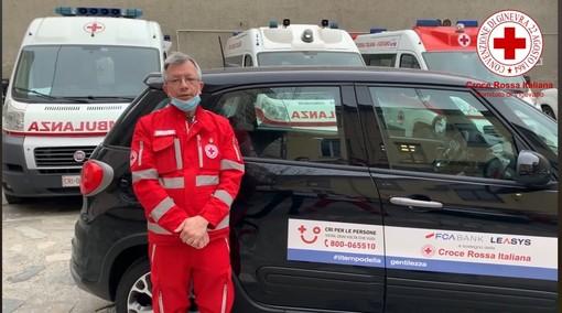 - (VIDEO) - Vigevano: il presidente della Croce Rossa Andrea Motta, ringrazia tutti i Volontari e Dipendenti in campo contro il Coronavirus