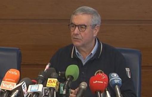 Il capo della protezione civile Borrelli ha la febbre