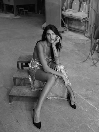 Carolina Stramare nella foto dedicata al mese di novembre 2020 (Foto Alberto Buzzanca)