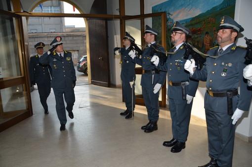 Guardia di Finanza, il comandante regionale Lombardia in visita alla compagnia di Vigevano