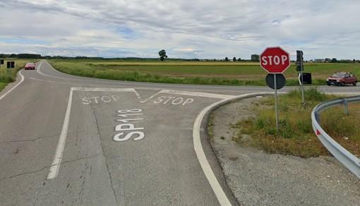 Frascarolo: lavori per la rotonda sulla ex statale 494, la provincia dispone la chiusura al transito dei veicoli all'intersezione del centro abitato