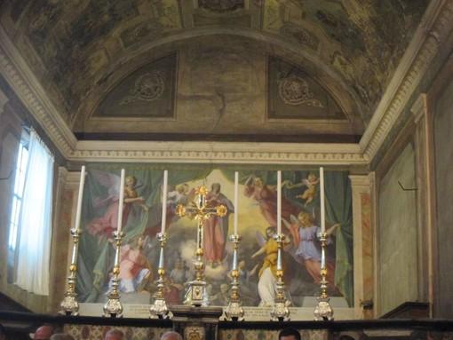 Mede: torna a nuova vita una cappella della chiesa degli Angeli