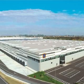 Inaugurato a Landriano il nuovo centro logistico di Aldi