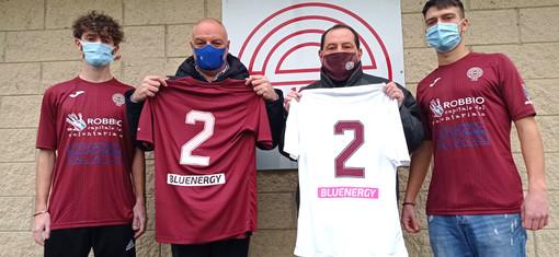 Calcio, Bluenergy Group è il nuovo sponsor di A.S. Robbio