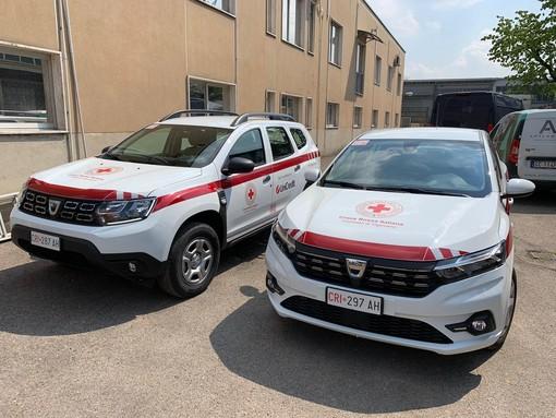 Due nuovi autoveicoli per il comitato di Vigevano della Croce Rossa