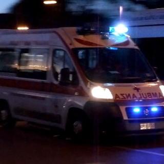 Garlasco: tamponamento tra auto in via Da Vinci, ferito un 57enne