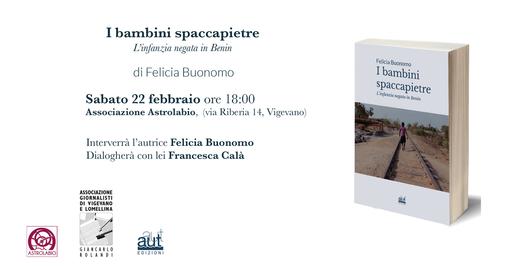 """Vigevano: sabato la presentazione del libro """"I bambini spaccapietre"""""""
