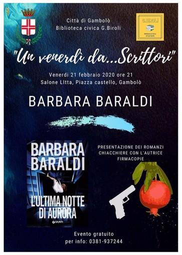 L'INTERVISTA: Gambolò, sale l'attesa per la presentazione del libro di Barbara Baraldi