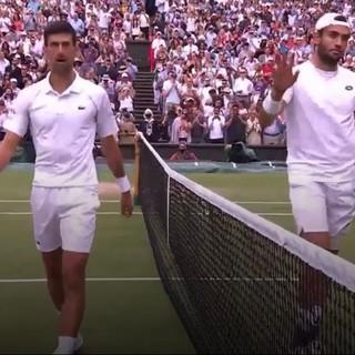 Si ferma in finale la corsa di Berrettini, ma l'erba di Wimbledon è ugualmente un po' azzurra