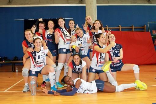 Volley B1 femminile: Re Marcello Florens Vigevano, tutto facile con Capo d'Orso Palau