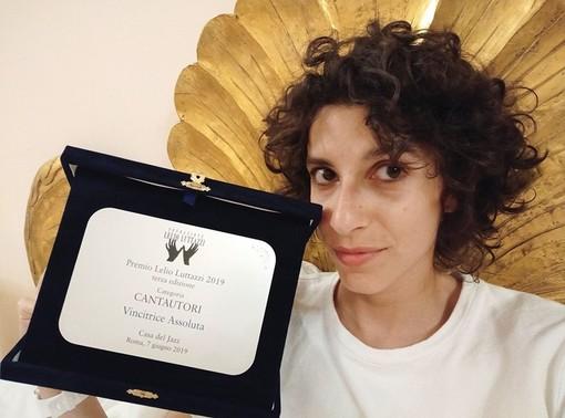 Mortara, la vocalist Caterina Comeglio si aggiudica il Premio Lelio Luttazzi  alla Casa del Jazz di Roma