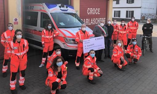 Garlasco, altri duemila euro donati alla Croce Garlaschese dal Comune