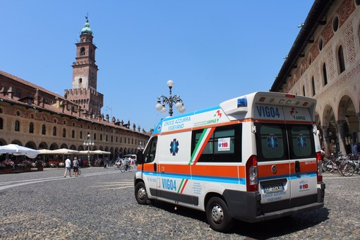 Vigevano, 50° Festa della Croce Azzurra - Cuore Vigevanese