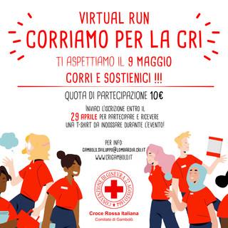 """La Croce Rossa di Gambolò organizza la 1°edizione """"Corriamo per la Cri"""""""