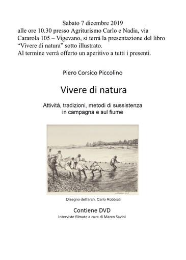 Vigevano, Corsico Piccolino presenta libro e dvd sul Ticino. Un lavoro in dialetto con traduzioni in italiano