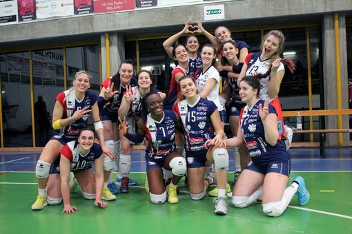Volley B1 femminile: Re Marcello Florens Vigevano distrugge la resistenza di Ambrovit Garlasco
