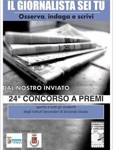 """Vigevano, al via la 24esima edizione del concorso giornalistico """"Dal nostro inviato"""""""