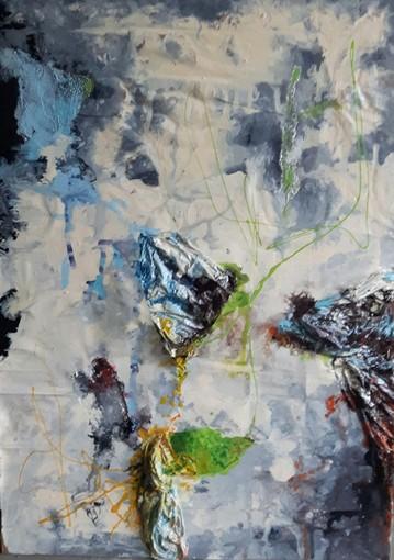 Pavia: Maugeri in Arte, i rifiuti diventano quadri