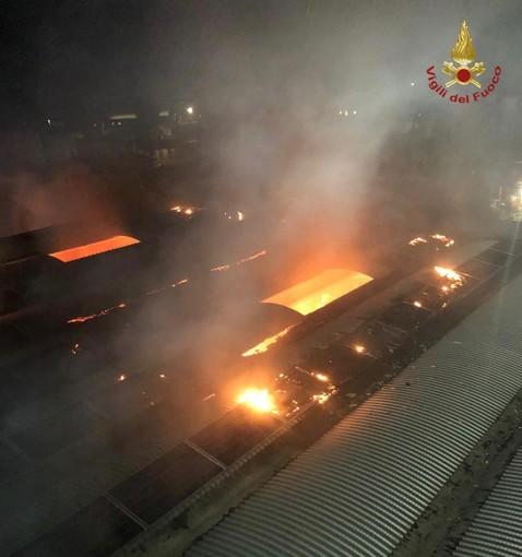 Pavese: incendio in un'azienda farmaceutica a Copiano, danni ingenti