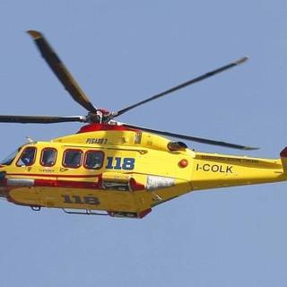 Morimondo: ancora un grave incidente sulla ss526, intervenuto anche l'elisoccorso
