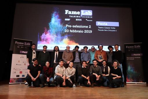 Famelab Italia, 13 candidati per 3 minuti di talk sale l'attesa per la finale pavese sul palco del Politeama giovedì sera