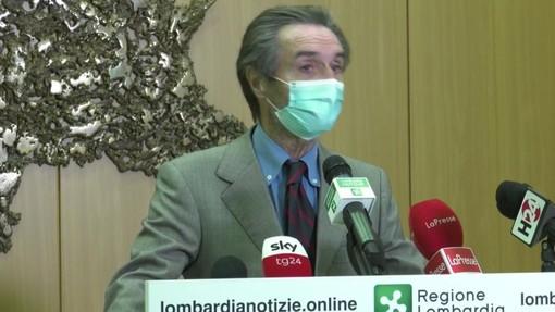Fontana: «Il governo vorrebbe mantenere la situazione attuale in Lombardia fino al 3 dicembre»
